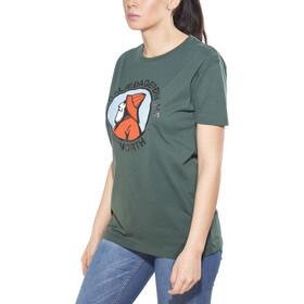 66° North Gola Organic T-Shirt Damen bottle green